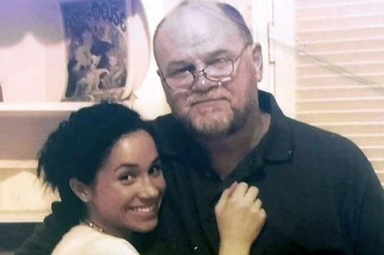 meghan markle and her father thomas markle