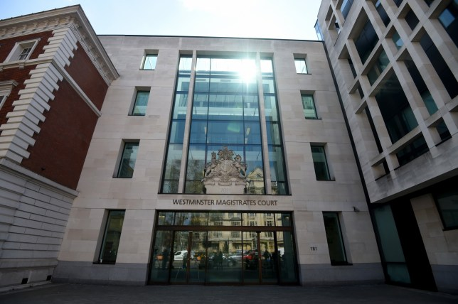 LONDON, UNITED KINGDOM - APRIL 11: General views of Westminster Magistrates Court where Julian Assange is expected to arrive, in London, United Kingdom on April 11, 2019. WikiLeaks founder Julian Assange has been arrested in Ecuadors Embassy in London on Thursday, the Metropolitan Police said in a statement. (Photo by Kate Green/Anadolu Agency/Getty Images)