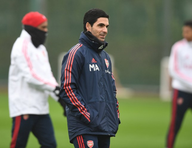 Mikel Arteta is impressing Arsenal's players with his coaching style