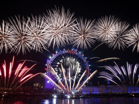 How much does London's New Year's Eve fireworks show cost?