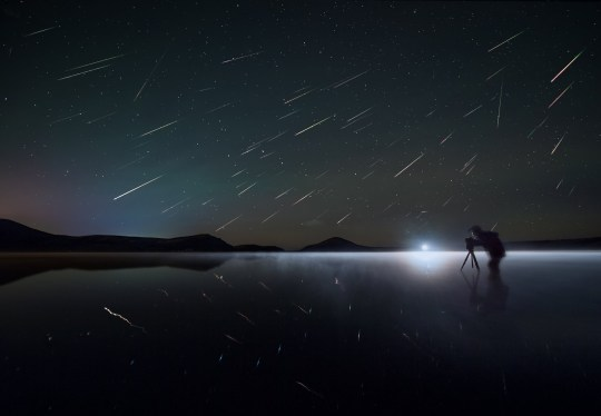 Photographers frequently use the Perseids to capture amazing shots(Getty Images)