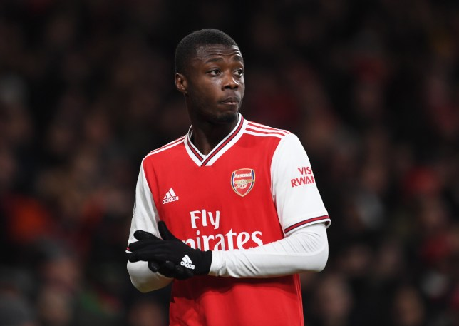 Robin van Persie has advised Nicolas Pepe to improve his movement in Arsenal's attack after their win over Manchester United