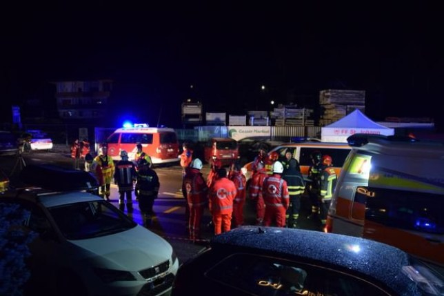 Six dead after car crashes into holidaymakers at tourist hotspot The tourists, believed to be from Germany, were in the Luttach in the Ahrntal Valley in Italy when a car ploughed into them. It is believed that as many as 17 people were in the group