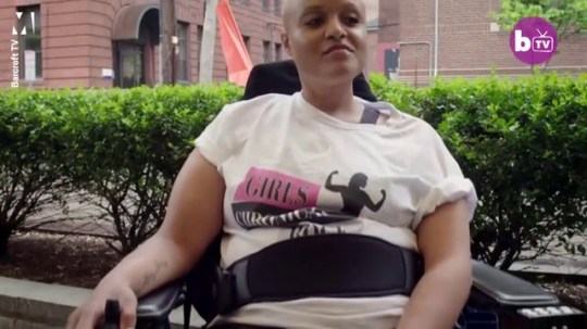 Paralysed woman who started own fashion line for disabled people