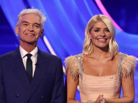 Dancing on Ice cast to pay emotional tribute to Phillip Schofield live on show as host comes out as gay