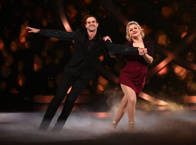 Editorial use only Mandatory Credit: Photo by REX (10518138au) Lisa George and Tom Naylor 'Dancing On Ice' TV show, Series 12, Episode 1, Hertfordshire, UK - 05 Jan 2020