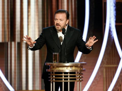 Ricky Gervais breaks silence on controversial Golden Globes monologue: 'Thank f**k it's over'
