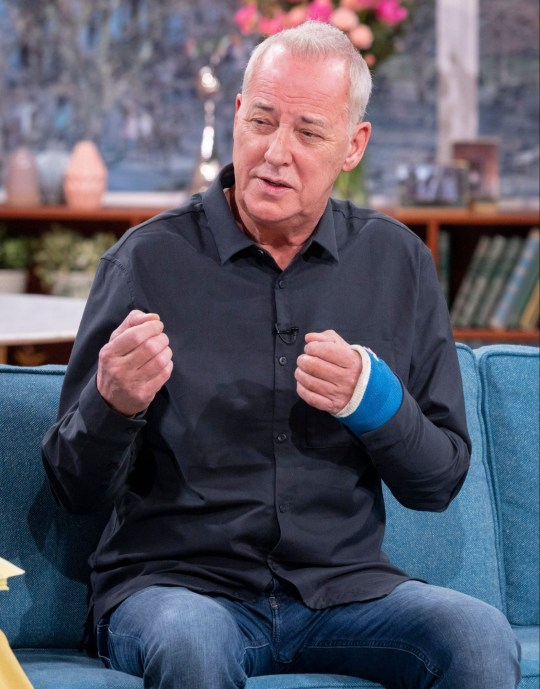 Editorial use only Mandatory Credit: Photo by Ken McKay/ITV/REX (10518924h) Michael Barrymore 'This Morning' TV show, London, UK - 06 Jan 2020 MICHAEL BARRYMORE ?THE REACTION TO MY COMEBACK HAS BEEN PHENOMENAL? He was once the king of entertainment television, but Michael Barrymore?s return to the screen was short-lived after being forced to quit Dancing On Ice last December. Michael joins us for his first television interview since his injury on the ice to discuss what?s next for him.