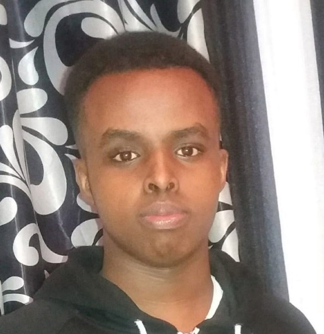 """Undated handout file photo issued by the Metropolitan Police of Yusuf Mohamed who was stabbed to death in Shepherd's Bush on 26 June 2019. William Haines, 18, and a 17-year-old youth gave each other a """"fist bump"""" after stabbing 18-year-old Yusuf to death a jury at the Old Bailey has been told. PA Photo. Issue date: Tuesday January 7, 2020. See PA story COURTS Store. Photo credit should read: Metropolitan Police/PA Wire NOTE TO EDITORS: This handout photo may only be used in for editorial reporting purposes for the contemporaneous illustration of events, things or the people in the image or facts mentioned in the caption. Reuse of the picture may require further permission from the copyright holder."""