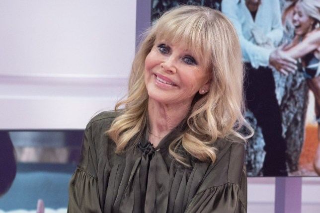 Editorial use only Mandatory Credit: Photo by Ken McKay/ITV/REX (10520437n) Britt Ekland 'Good Morning Britain' TV show, London, UK - 08 Jan 2020
