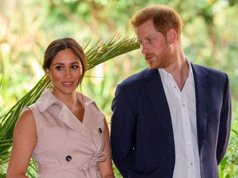 Meghan and Harry's bid to trademark Sussex Royal brand blocked by doctor