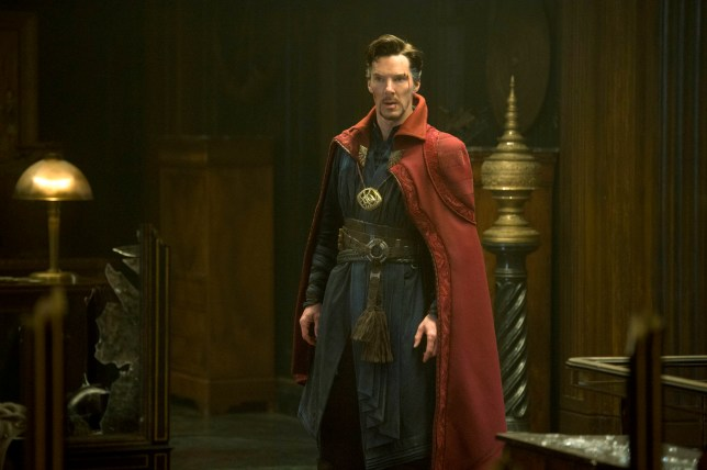 Doctor Stephen played by Strange Benedict Cumberbatch