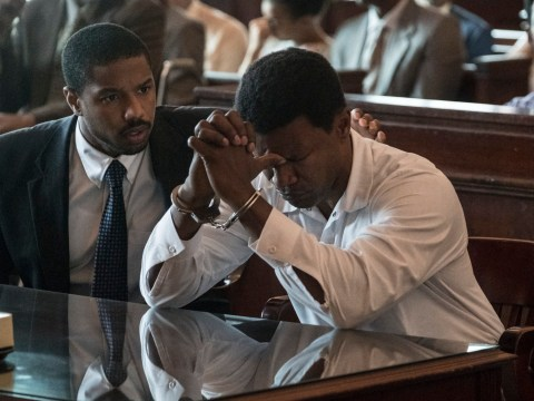 Behind-the-scenes true story of heartbreaking courtroom moment with Jamie Foxx in Just Mercy