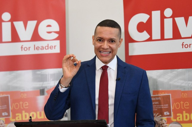 Labour MP Clive Lewis makes a speech at the Black Cultural Archives in Brixton, London, as part of his campaign to become leader of the party. PA Photo. Picture date: Friday January 10, 2020. See PA story POLITICS Labour. Photo credit should read: Stefan Rousseau/PA Wire