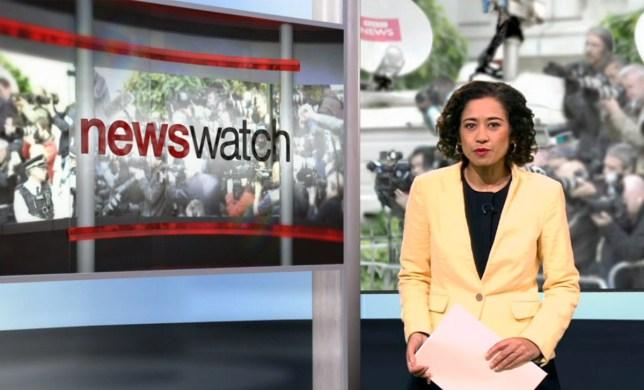 Samira Ahmed, Newswatch (Picture: BBC)