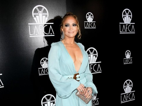 Jennifer Lopez stuns at Los Angeles Critics Association Awards as she wins best supporting actress gong