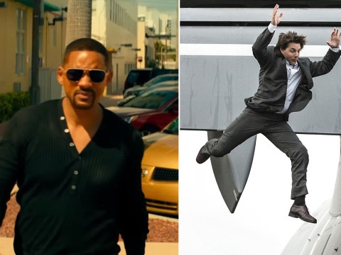 Will Smith convinced himself he'd be better than Tom Cruise at stunts – and is quickly mistaken