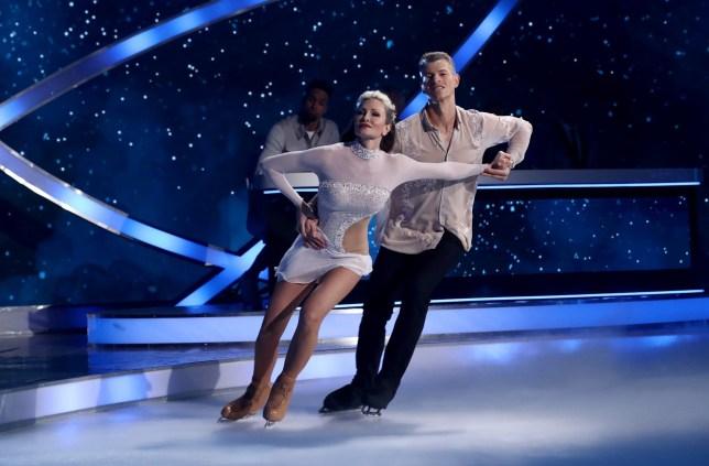 Dancing On Ice's Caprice Bourret breaks silence on 'amazing' new partner Oscar Peter