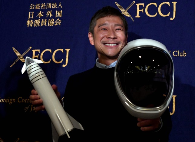 Japanese billionaire abandons plans to bring a 'special woman' into space