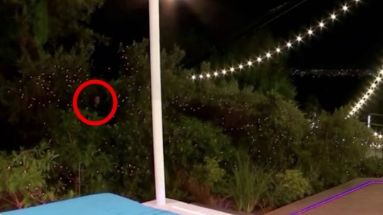 Love Island fans spot mysterious figure lurking in the bushes during opening episode