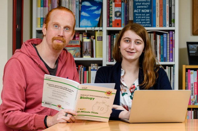 PIC BY CATERS NEWS (PICTURED IT security consultant Jonathan Jenkyn, 43, found a lump in his neck which was later diagnosed as cancer after teaching his daughter, Alice Jenkyn about lymph nodes for GCSE Biology.) A teen saved her dads life after asking him to help her study for her GCSE biology exam - and the pair ended up detecting a cancerous lump in her dads neck. Alice Jenkyn, 17, had asked dad Jonathan to help her swat for her exams in May lat year. When she struggled to remember where her lymph nodes were located, dad Jonathan, 43, showed her by pointing them out on his own neck - when he noticed a small lump hed never felt before. He immediately made an appointment with his GP - and within weeks was diagnosed with metastatic oropharyngeal carcinoma and had a growing tumour in his jaw. SEE CATERS COPY