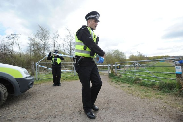Three people have been arrested on suspicion of murder after a body was found in Boston. Police believe the victim is 46-year-old Polish national Marcin Stolarek, whose body was found at the pumping station on Chain Bridge Road on Sunday, January 12. Caption: Police at scene.