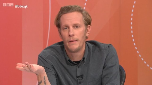 How can Laurence Fox be bored? We haven't even started the conversation about racism yet