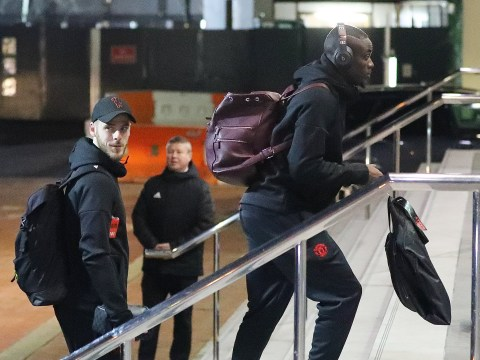 Marcus Rashford missing from Man Utd squad at team hotel ahead of Liverpool clash