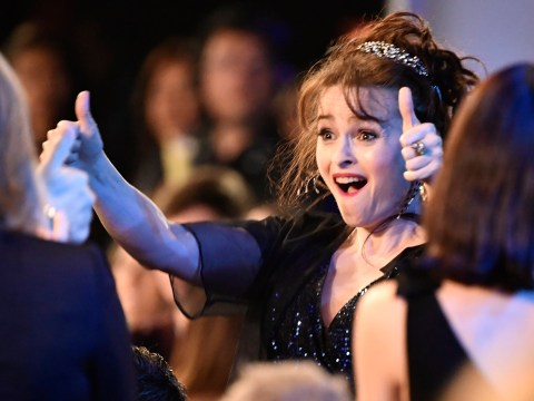 The Crown's Helena Bonham Carter weighs in on Harry and Meghan stepping back from royal duties