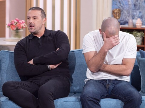 Top Gear's Paddy McGuinness embarrasses Chris Harris as he reveals he only has one nipple