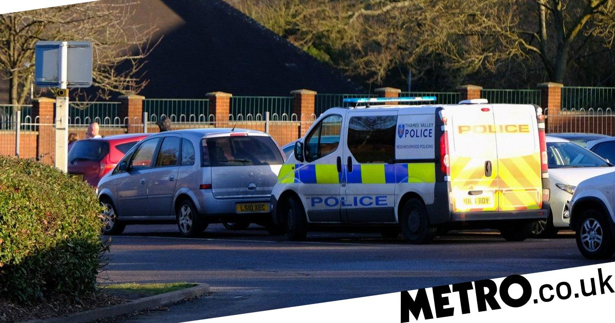 Boy, 15, arrested after pupil stabbed with scissors during school fire drill