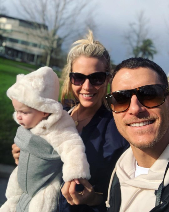 Gemma Atkinson furious at baby Mia's first word