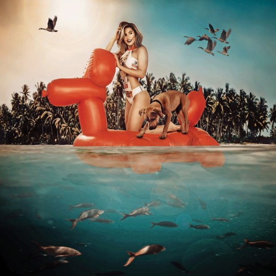 PIC BY ROCHELLE HAISLEY PHOTOGRAPHY / CATERS NEWS (PICTURED Gone for a float in a swimming costume made from dog food bags) An unconventional dressmaker has transformed over 100 empty pet food bags into cocktail dresses, ball gowns, swimwear and even a moon suit. Kristen Alyce, 33, from South Florida, US, wanted to grab peoples attention for a fundraising calendar to raise awareness for animal shelters. She spent 300 hours transforming empty dog and cat food bags into fashion and fine art - using 1 to 25 bags per item. But this isnt the first time Kristen has upcycled discarded resources to create fashionable outfits - she has previously used sweet wrappers, magazines, and even X-rays. SEE CATERS COPY