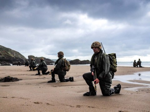 Royal marine recruit dies after training exercise on Cornwall beach