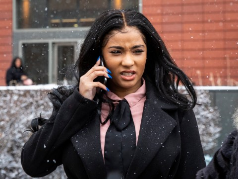 R Kelly's girlfriend Joycelyn Savage ignores mother's desperate plea to talk to her outside courtroom