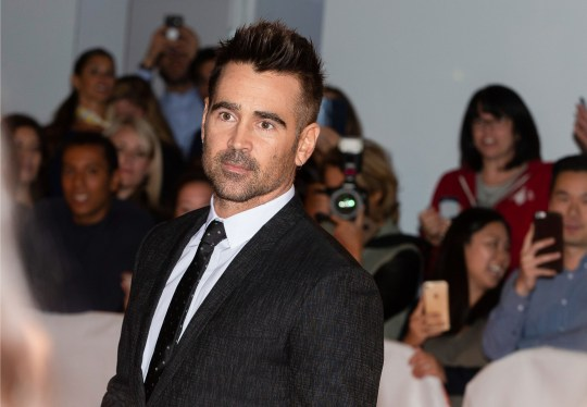 Colin Farrell spills the beans on 'dark and moving' The Batman script after rambling on about kebabs