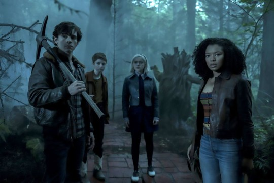Picture: Netflix CAOS review. Chilling Adventures of Sabrina