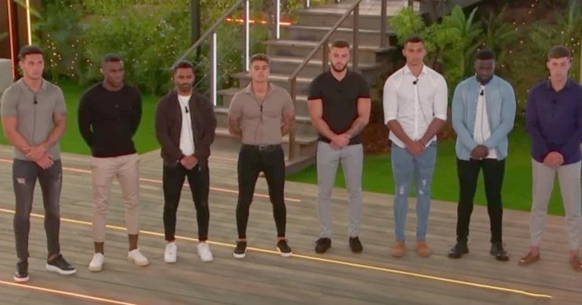 One boy has already been dumped from Love Island villaPicture: ITV