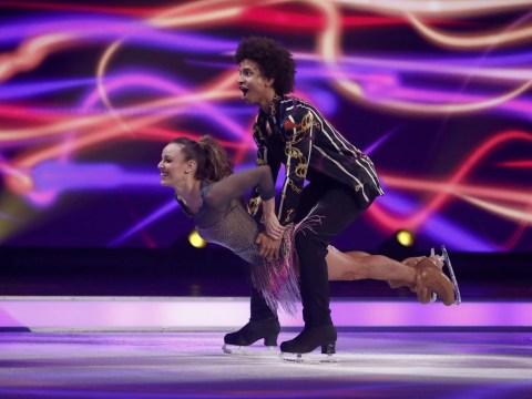 Dancing on Ice's Radzi Chinyanganya becomes third celebrity eliminated from 2020 series