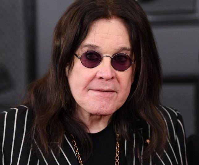 Mandatory Credit: Photo by David Fisher/REX (10532330hw) Ozzy Osbourne 62nd Annual Grammy Awards, Arrivals, Los Angeles, USA - 26 Jan 2020