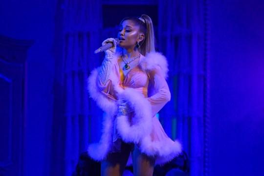 Ariana Grande Grammys performance