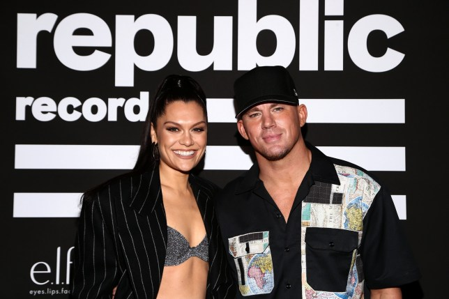 WEST HOLLYWOOD, CALIFORNIA - JANUARY 26: (L-R) Jessie J and Channing Tatum attend Republic Records Grammy After Party at 1 Hotel West Hollywood on January 26, 2020 in West Hollywood, California. (Photo by Tommaso Boddi/Getty Images for Republic Records)