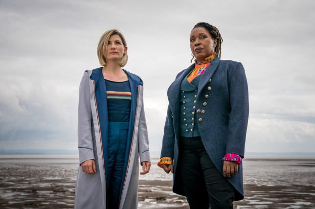 Jo Martin Jodie Whittaker Doctor Who