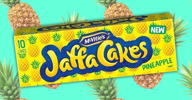 Pineapple jaffa cakes Pictures: Getty/Jaffa Cakes