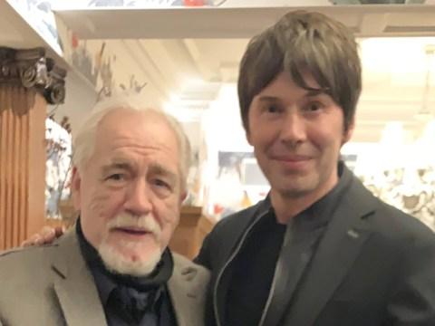 Professor Brian Cox meets Succession's Brian Cox and there's a glitch in the matrix