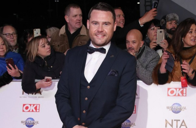 LONDON, ENGLAND - JANUARY 28: Danny Miller attends the National Television Awards 2020 at The O2 Arena on January 28, 2020 in London, England. (Photo by Mike Marsland/WireImage)