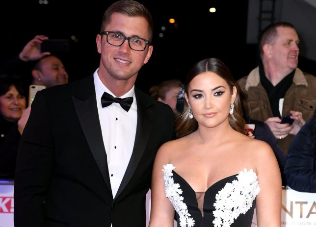 Dan Osborne and Jacqueline Jossa attending the National Television Awards 2020 held at the O2 Arena, London. Photo credit should read: Doug Peters/EMPICS
