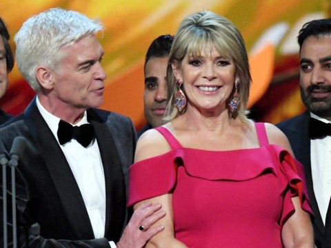 What happened between Philip Schofield and Ruth Langsford at the NTAs?
