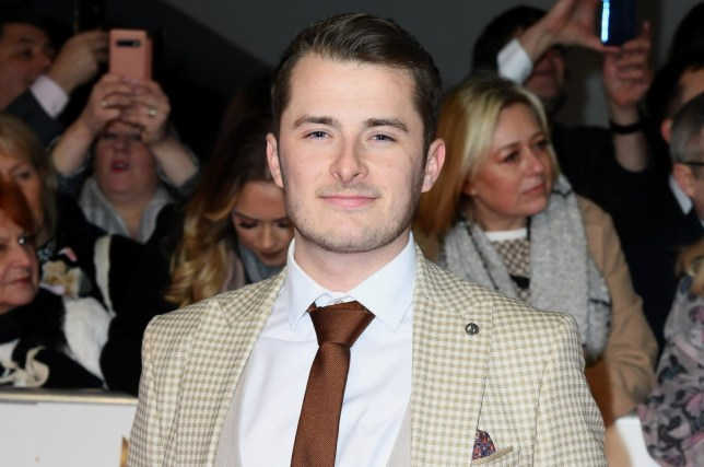 LONDON, ENGLAND - JANUARY 28: Max Bowden attends the National Television Awards 2020 at The O2 Arena on January 28, 2020 in London, England. (Photo by Gareth Cattermole/Getty Images)