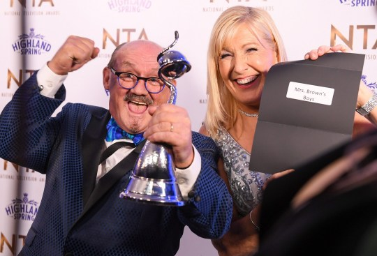 Mrs Brown's Boys wins NTA
